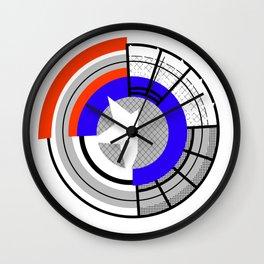 Prototype Shield Wall Clock