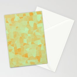 Geometric Shapes Fragments Pattern 2 ow Stationery Cards