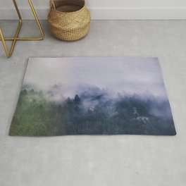 Forest Cump At Autumn Rug