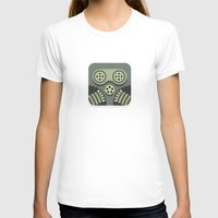 steam punk T-shirts featuring Steam Punk Mask by Nick Kumbari