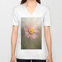 cosmos V-neck T-shirts featuring Cosmos by Pauline Fowler ( Polly470 )