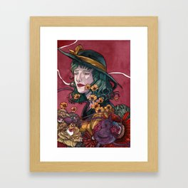In your Subconscious - Rorschach ver. Framed Art Print