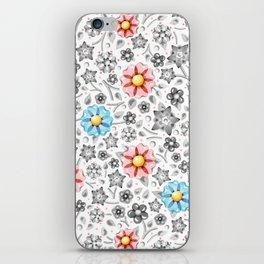 Millefiori Monotone iPhone Skin