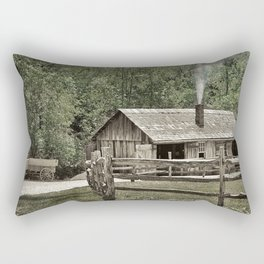 The Blacksmith Shop Rectangular Pillow