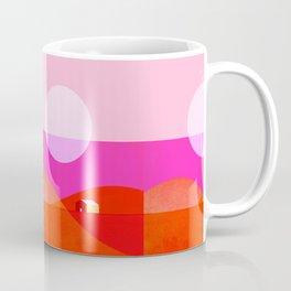 Abstraction_MOUNTAINS_LITTLE_HOME_SUN_POP_ART_Minimalism_099AH Coffee Mug