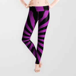 Starburst (Black & Purple Pattern) Leggings
