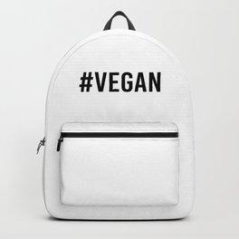 Hash Tag VEGAN Backpack