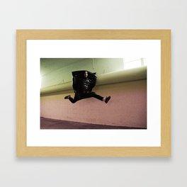 Hop Sack Framed Art Print
