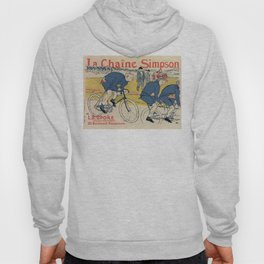 Toulouse-Lautrec vintage cycling ad Hoody