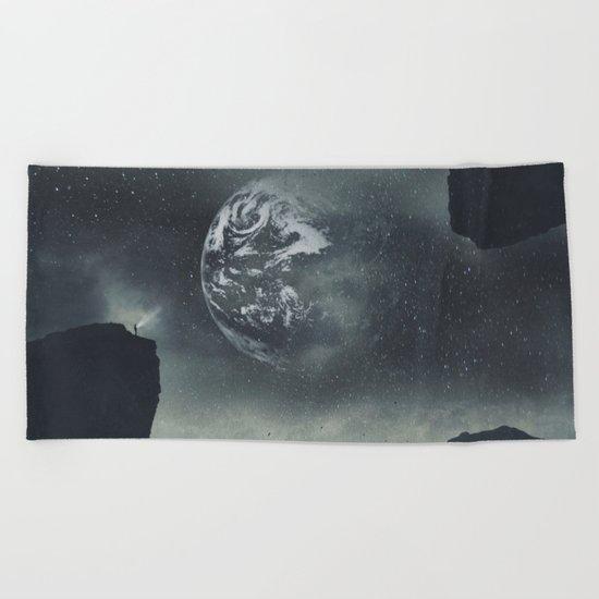Dream Orbit II Beach Towel