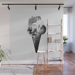Universal ice-cream. Wall Mural