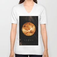 venus V-neck T-shirts featuring VENUS by Alexander Pohl