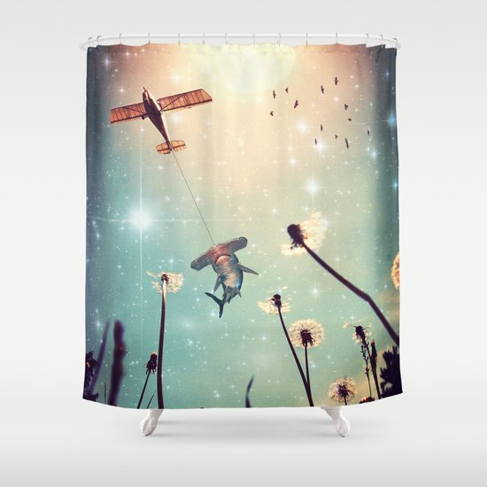 Flying Lessons Shower Curtain