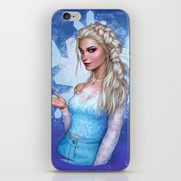 Snow Queen iPhone Skin