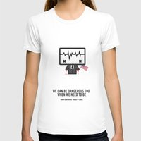 frank underwood T-shirts featuring Frank Underwood by the curious brain
