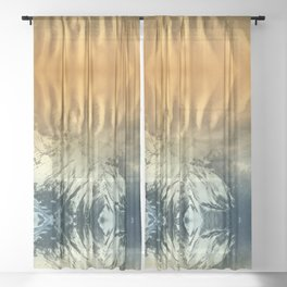 Nature Abhors A Vacuum Sheer Curtain