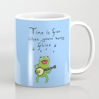 muppets Mugs featuring Muppets Kermit by BlackBlizzard