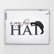 A very fine hat Laptop & iPad Skin