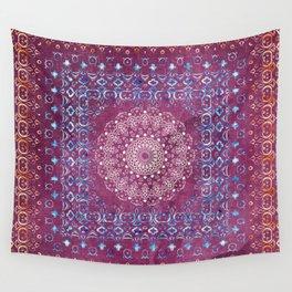 Old Bookshop Magic Mandala Wall Tapestry