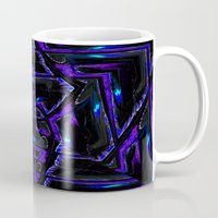 gothic Mugs featuring Gothic by David  Gough