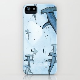 Hammerheads iPhone Case