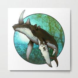 Whale Oil Metal Print