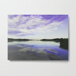 Summer Sunsets Metal Print