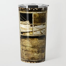 Window in a tin wall Travel Mug