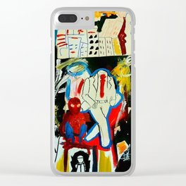 Heroes Clear iPhone Case