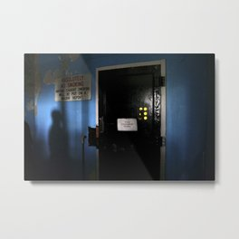 The Changing Room Metal Print