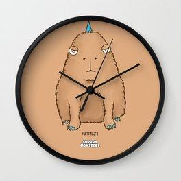 Furrrybara Wall Clock