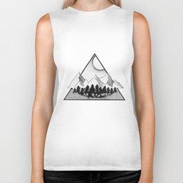 Triangle mountains Biker Tank
