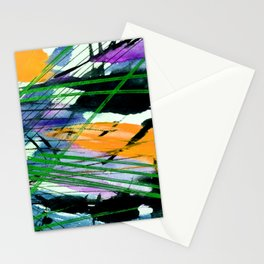 Abstract Joy 3B by Kathy Morton Stanion Stationery Cards