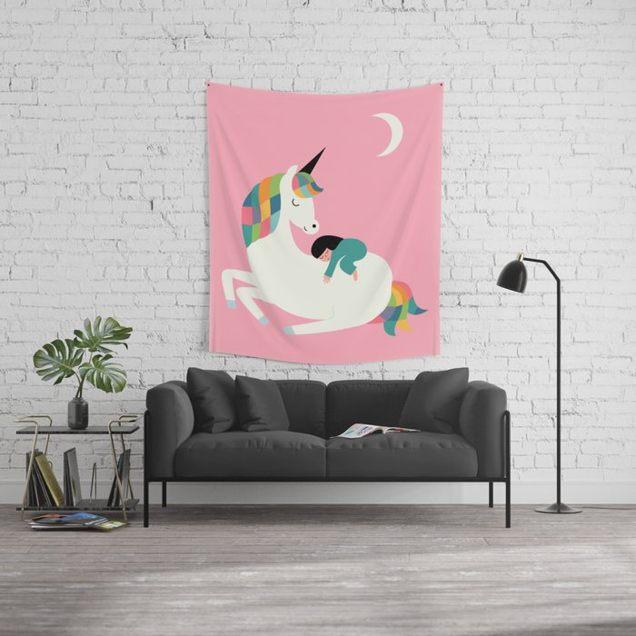 Me Time Wall Tapestry