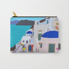 Sea you soon [Santorini, Greece] #2 Carry-All Pouch