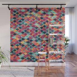 Colorful Geometric Pattern #07 Wall Mural
