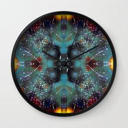 Spiderweb Dew Wall Clock