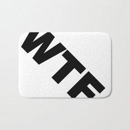 TRAN-WTF... Bath Mat