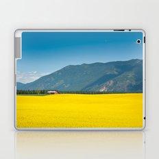 Canola farm Laptop & iPad Skin