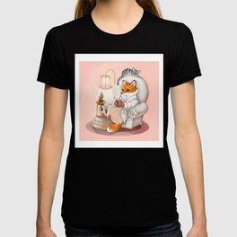 Cozy Hygge Fox T-shirt