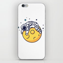 Lazy Astronaut iPhone Skin