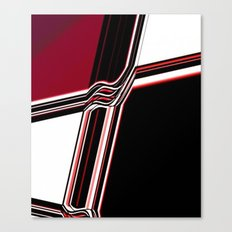 Barred Canvas Print