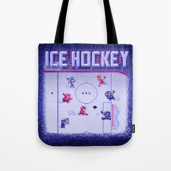 Hockey Ice Tote Bag