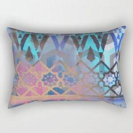 Geometric Moroccan Patterns Rectangular Pillow