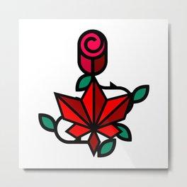 Delicate flower Metal Print
