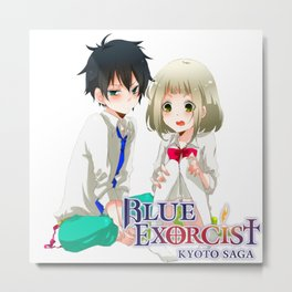 Shiemi Moriyama and rin okumura kawaii Metal Print