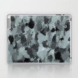 Black and Smokey Blue Pastels 3216 Laptop & iPad Skin
