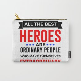 Super Heroes Superheroes Extraordinary Powers Carry-All Pouch