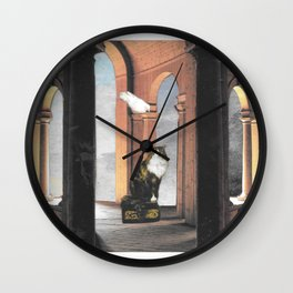 It's Lonely at the Top Wall Clock