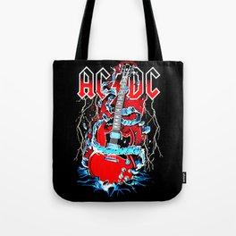 ACDC Guitar Tote Bag